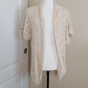 Torrid knit short sleeve shrug | 2x